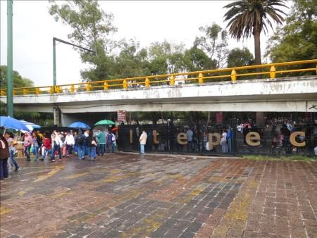 メキシコ  チャプルテペック公園をブラブラと散策 【メキシコシティ】
