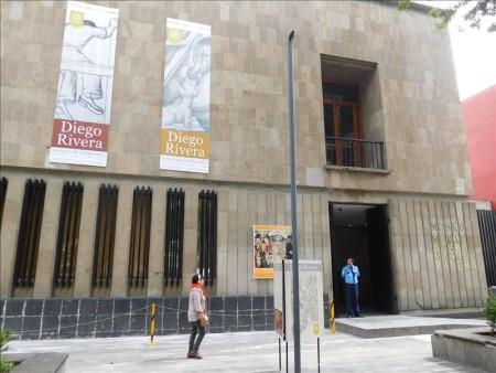 メキシコ  メキシコシティで博物館めぐり_ディエゴリベラ壁画館