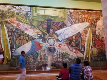 メキシコ  博物館めぐり最後は宮殿の中にある博物館 【メキシコシティ】