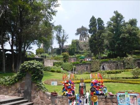 メキシコ  グアダルーペ寺院の奇跡のマント【メキシコシティ】