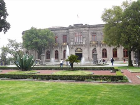 メキシコ  「バッタの丘」チャプルテペック城を見学してきた