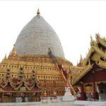 ミャンマー  アーナンダ寺院の4体の仏像は必見の価値あり【バガン】