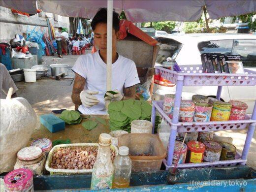 ミャンマー  ヤンゴン滞在最終日に近場をブラブラ散策
