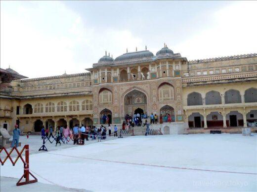 インド  大迫力の世界遺産「アンベール城」内部を見学【ジャイプル】