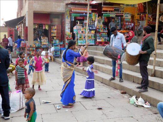 インド  バラナシで見掛けたインド人たち