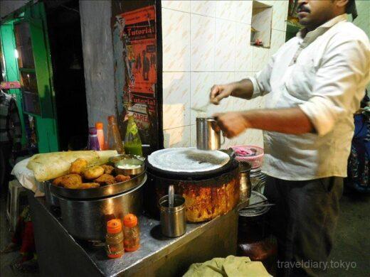 インド  バラナシで食べた食事_インドカレーにはナンが普通じゃないの?