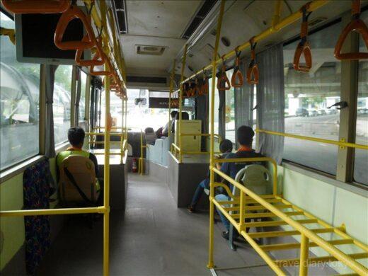 タイ  スワンナプーム国際空港 ⇒アランヤプラテート_シャトルバスで国境へ