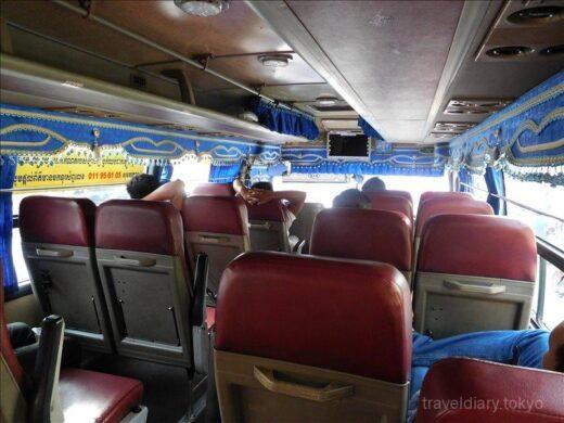 カンボジア  プノンペン ⇒ ホーチミン 6時間かけてバス移動【陸路国境越え】