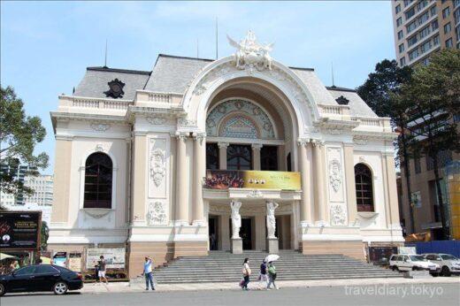 ベトナム  ホーチミン市内を散策_オペラハウスの「A O Show」は凄いらしい