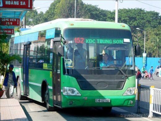 ベトナム  ホーチミン ⇒ ハノイ 飛行機で移動_シャトルバスでハノイ中心地へ