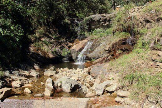 ベトナム  サパの自然の中にあるシルバー・フォール(銀の滝)へ行ってきた