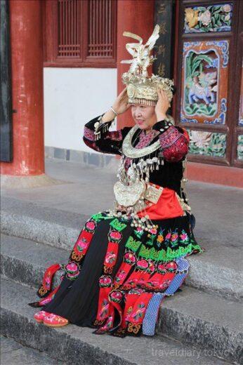 中国  大理古城をブラブラ散策_五華楼に登ってみた【中国】