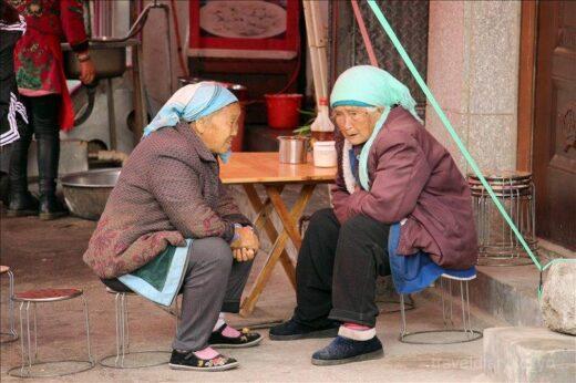 中国  洱海のほとりにある「才村埠頭(才村码头)」に行ってきた【中国】
