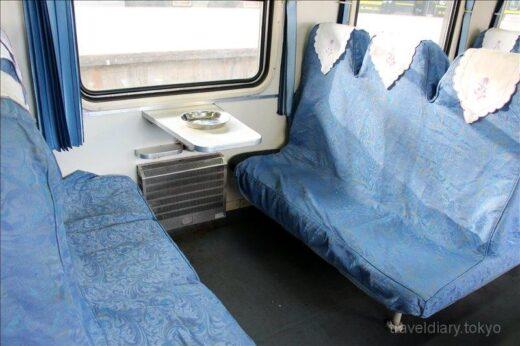 中国  硬座の列車で大理 ⇒ 麗江を移動【中国】