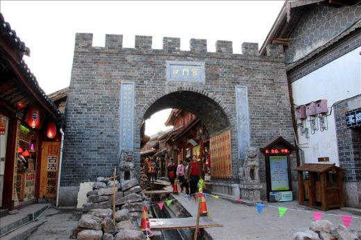 中国  中国雲南省 世界遺産の街「麗江古城」をブラブラと散策
