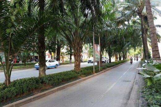 中国  東南アジアの雰囲気を持つ街「景洪」をぶらぶら散策【中国】
