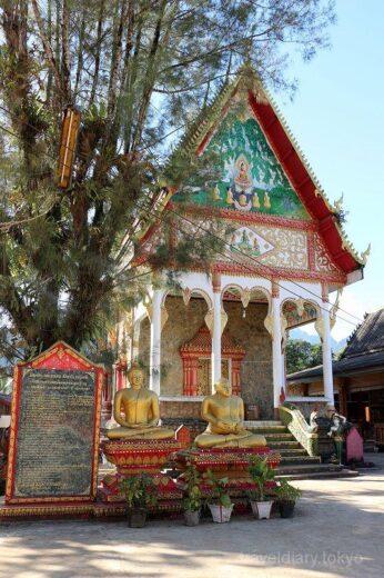 ラオス  バンビエンの街をブラブラ散策_寺院を見学してみた【ラオス】