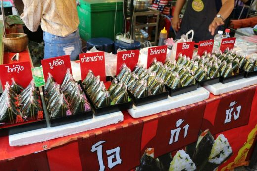 タイ  ウドンタニの鉄道駅とか屋台とかを見学【タイ】