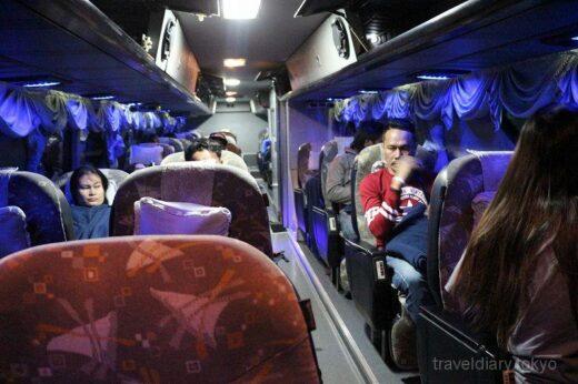 タイ  ウドンタニ ⇒ バンコク をチャンツアーのバスで快適に移動【タイ】
