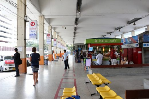 タイ  東バスターミナル(エカマイ)からパタヤへバスで移動【バンコク】
