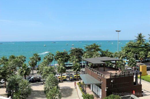 タイ  パタヤの街をブラブラ散策_綺麗なビーチとか【タイ】