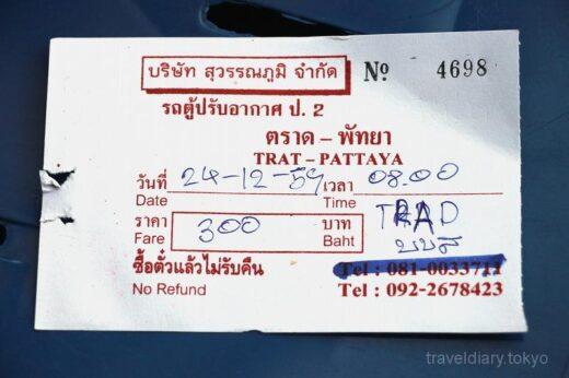 タイ  陸路国境越え_ハートレック(タイ)⇒ コッコン(カンボジア)