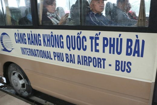 ベトナム  市内バスとLCCで格安移動【ホーチミン ⇒ フエ】