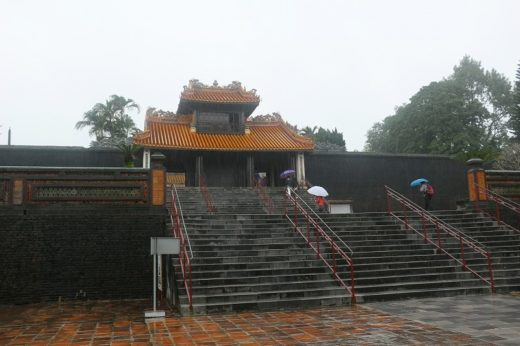 ベトナム  フエの世界遺産「歴史的建造物群」トゥドゥック帝陵【ベトナム】