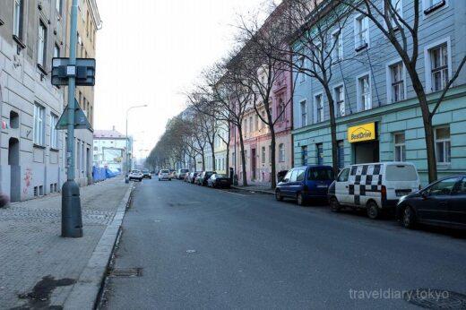 チェコ  プラハで泊った宿のご紹介「アデバホテル(Adeba Hotel)」
