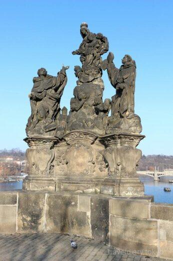 チェコ  プラハで絶対に外せない観光スポット「カレル橋」