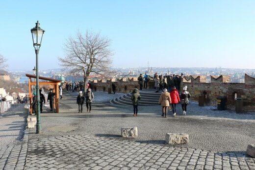 チェコ  世界遺産 プラハ歴史地区で一番の見所「プラハ城」