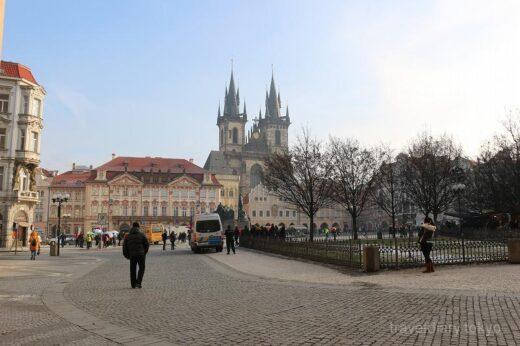 チェコ  今日もプラハの街を散策してみました