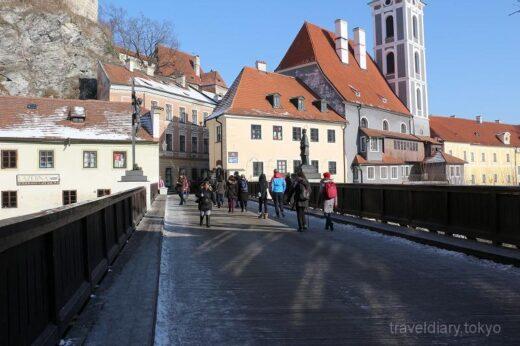 チェコ  世界遺産の街「チェスキークルムロフ」をブラブラと散策【チェコ】