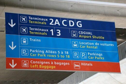 チェコ  チェコ航空に乗って プラハ ⇒ パリへ移動